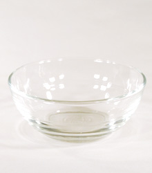 Butter Dish Small Glass $0.60