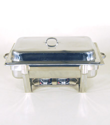 Chafing Dish Table Server incl fuel $45.00