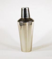 Cocktail Shaker Stainless Steel $5.00
