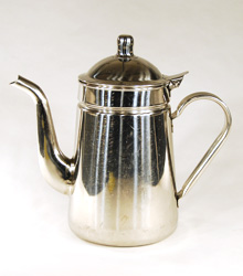 Coffee Pot Stainless Steel $5.00