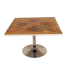Low Coffee Table Wooden Top $30.00