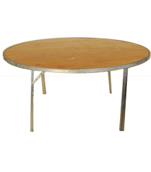 Round Table 5' $20.00 & 6' $22.00