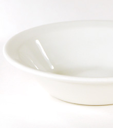 """Small Soup Bowl With Rim 6.5"""" $0.55"""