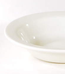 """Sweet Bowl With Rim 6"""" $0.55"""