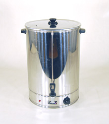 Urn 120 cup$45.00, 200 cup $50.00